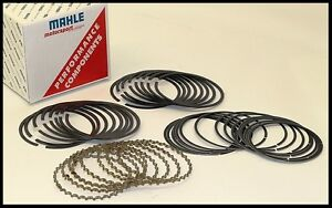 Sbc Chevy 406 421 Mahle Rings 4 155 Bore 1 16 1 16 3 16 030 5 Over 4160 Ms