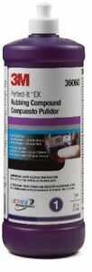 3m 36060 Perfect It Ex Rubbing Compound Quart