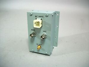 Frequency West Inc Microwave Oscillator Gsc 540lmf 02