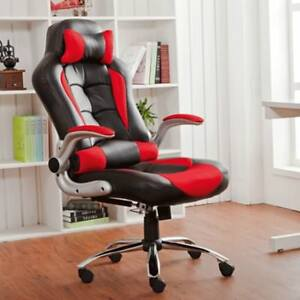 Merax High Back Racing Gaming Office Chair Executive Computer Desk Swivel Chair