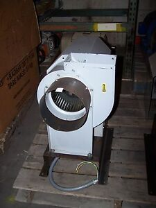 Brundage Marathon 1 3 Hp Centrifugal Blower Fan 8 Diameter 6 x5 Exhaust