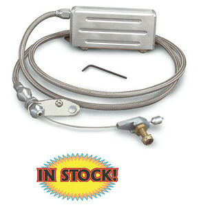 Lokar Kd 2400ht Gm Th 400 Hi Tech Trans Kickdown Cable Braided Stainless