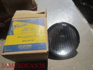 Vintage Guide 453818 Sealed Unit Bulb Headlight New Nos In Box