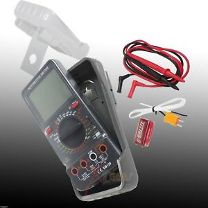 Automotive Meter Digital Multimeter Lcd Ac dc Ammeter Resistance Capacitance
