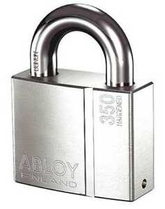 Abloy Pl350 25b kd Keyed Padlock different 2 53 64 w