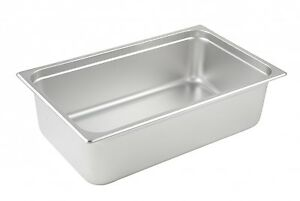 Winco Spjp 106 6 inch Deep Full Size Anti jamming Steam Table Pan Nsf