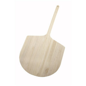 Winco Wpp 2042 42 inch Wooden Pizza Peel With 20x 21 inch Blade
