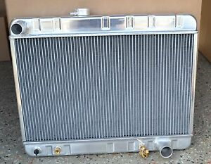 66 67 Pontiac Gto Radiator Aluminum Retro Direct Fit A Must Read B4 You Buy New