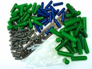 175 Piece High Temp Silicone Rubber Cap Kit Powder Coating Cerakote Vacuum