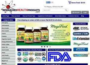 Online Supplement Retail Company With Business Website For Sale