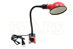 Shars Work Lamp On Magnetic Base Flexible Arm 10 50 New A