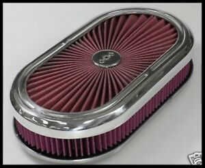 Extreme Oval Washable Air Cleaner 12 5020 Clearance Special