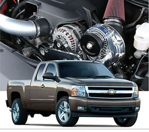 Chevy Gm Truck Suv Procharger 4 8l 5 3l P 1sc 1 Supercharger Ho System Kit 07 13