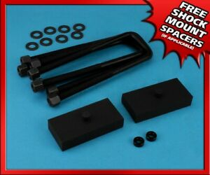 1 Rear Steel Lift Kit For 2005 2020 Toyota Tacoma 2wd 4wd 6 Lug