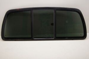 2003 2009 Kodiak topkick Back Glass Rear Window Tinted Slider W o Defrost