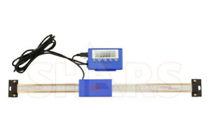 12 Stainless Steel Digital Remote Readout Dro Quill Scale Ip54 New 48 55 Off
