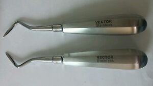 Flohr Apical Root Elevator 2 Pieces East West C 303 Dental Germany German