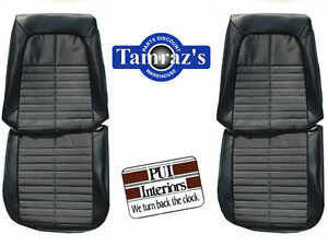 1971 Gto Lemans Sport Front Seat Upholstery Covers Pui New