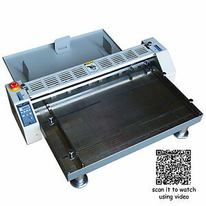 26 660mm Electric Creaser Scorer Perforator Paper Creasing Machine 110v Crease