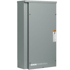 Kohler Rxt Series 300 amp Automatic Transfer Switch service Disconnect