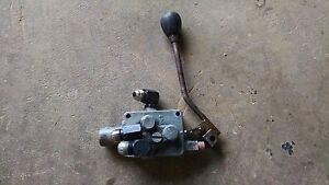 Cessna 1 Single Spool Hydraulic Valve W Lever 2d 18rgss