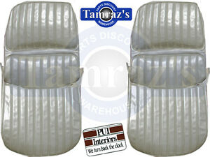1971 1972 Cutlass Supreme Front Seat Covers Upholstery Pui New