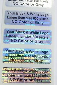500 Custom Print 5 X 1 5 Svag Hologram Warranty Security Label Sticker Seals