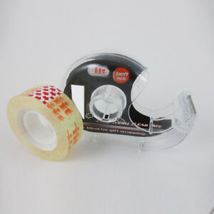 20 Rolls Crystal Clear Magic Tape 3 4 X 1300 Inches Boxed Dispenser Core 1