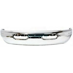 New 1998 2003 Fits Dodge Ram 1500 Van Front Bumper Face Bar Chrome Ch1002370