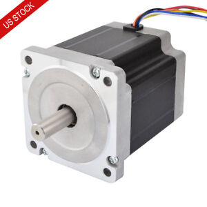 Us Ship 5ncm 708oz in Nema 34 Stepper Motor 8 Wires Cnc Mill Lathe Router Robot