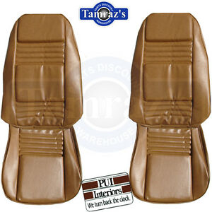 1978 1981 Firebird Front Seat Upholstery Covers Deluxe Interior Pui New