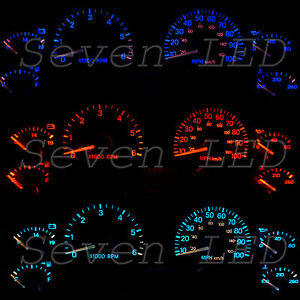 Led Kit For Jeep Wrangler Tj 97 06 Dash Instrument Cluster Speedometer