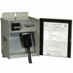 Reliance Controls 30 amp 120v 1 circuit Outdoor Transfer Switch