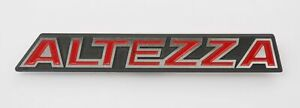 Aluminum Badge Emblem Logo is200 Fit For Toyota Altezza Rs200 Front Grille