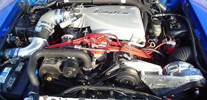 Mustang Cobra Procharger 5 0l P1sc Supercharger Ho Intercooled 8 Rib Kit 86 93