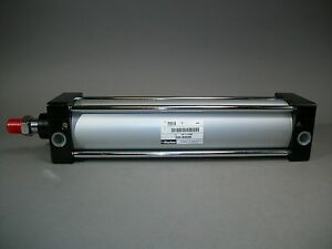 Parker Pneumatic Air Cylinder Gdc80x300 npt Female Ports New