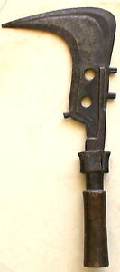 African Hand Axe Fighting Tool 13 75 Long Old