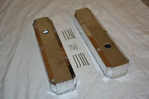 Fabricated Aluminum Valve Covers Small Bock 318 340 360 Mopar Chrysler Dodge