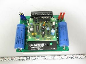 Streamfeeder Aa2301 Speed Control Board untested for Parts