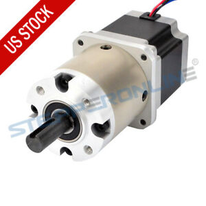Us Ship 15 1 Planetary Gearbox Nema 23 Stepper Motor Diy Cnc Mill Lathe Router