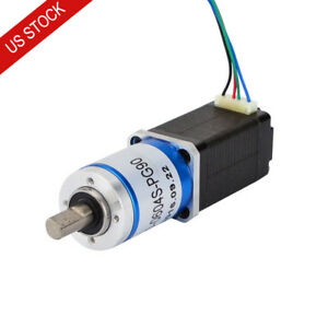 Us Ship Osm 90 1 Planetary Gearbox Nema 8 Stepper Motor Low Speed High Torque