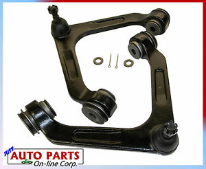 2 Upper Control Arms For Dodge Ram 2500 Ram 3500 Rwd 03 06 Ball Joints Bushing