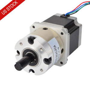 Us Ship 4 1 Planetary Gearbox Nema 23 Stepper Motor Diy Cnc Mill Lathe Router