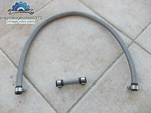 Volvo Amazon 122 121 Pv 544 P 1800 Twin Carb Stainlees Steel Fuel Hose Kit