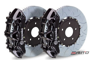 Brembo Front Gt Brake Bbk 6 Piston Black Caliper 380x34 Type3 Disc Audi S3 15