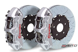 Brembo Front Gt Brake Bbk 6 Piston Silver Caliper 380x34 Type3 Disc Audi S3 15