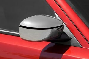Chrome Mirror Cover Set Fits 2005 2010 Chrysler 300 And 2006 2010 Dodge Charger