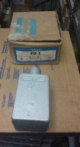 Crouse Hinds Fd 1 Condulet Single Gang Outlet Box L121