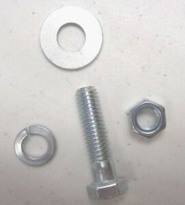 1500 Pieces Grade 5 Coarse Thread Bolt Nut and Washer Assortment Kit