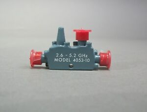 Narda Model 4053 10 Directional Coupler 2 6 5 2 Ghz New